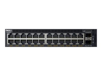 DELL Networking X1026P 24 porty 1GbE PoE (do 12 portów PoE+) i 2 porty SFP 1GbE