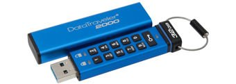 Kingston DataTraveler 2000, 32GB, AES Encryption, USB 3.0