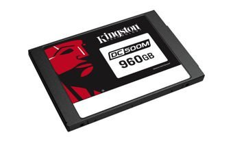 "Kingston Technology DC500M Data Center SSD 960GB SATA 3.0 2.5"" 555/520MB/s Mixed-Use"