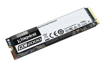 Kingston Technology SSD KC2000 250GB M.2 2280 NVMe, R/W 3000/1100 MB/s