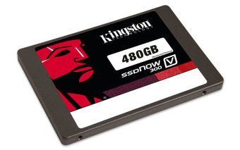 "Kingston Technology SSDNow V300 480GB SATA 3.0 2.5"" 450/450MB/s"