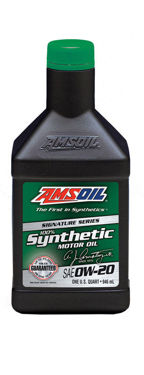 AMSOIL SAE 0W-20 100% Synthetic Motor Oil 0.946L