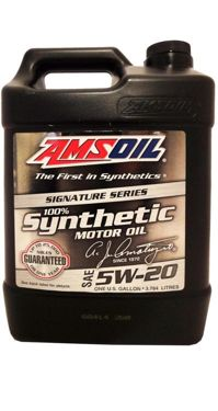 AMSOIL SAE 5W-20 100% Synthetic Motor Oil 3.784L