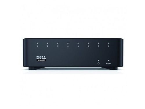 DELL Networking X1008P 8 portów 1GbE PoE