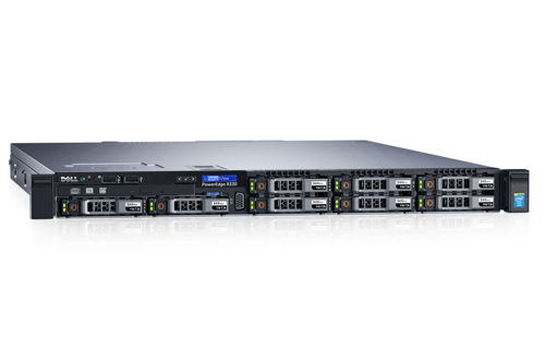 "DELL PowerEdge R330 E3-1220v5 1x8GBub 2x1TB SATA 3,5"" H330 DVD-RW 1x350W 3yNBD"
