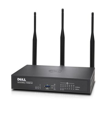 DELL SonicWall TZ400 Appliance Wireless-AC Intl Totalsecure 1Yr