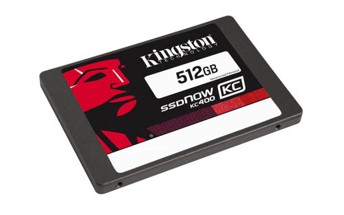"Kingston Technology SSDNow KC400 512GB SATA 3.0 2.5"" 550/530 MB/s"